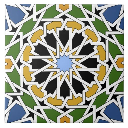 SOLD Moorish Tile