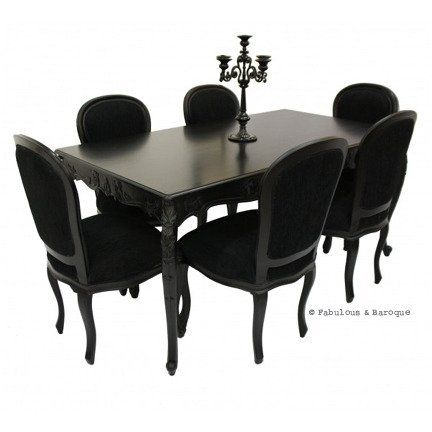 Best 25 Black dining tables ideas on Pinterest Interior design