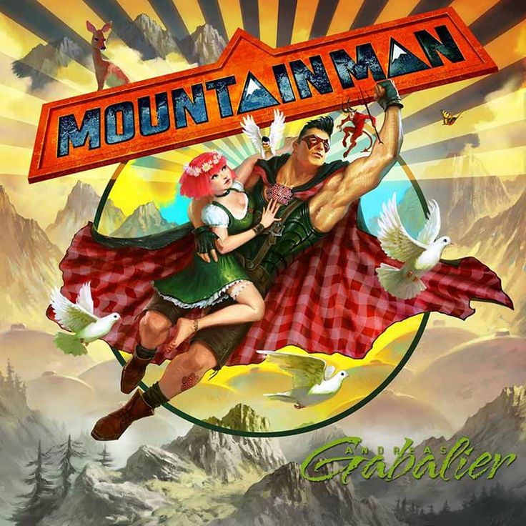 Andreas Gabalier album cover - Mountainman