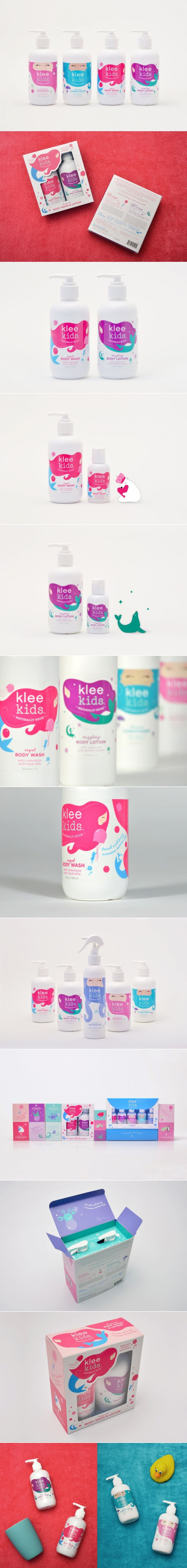 Klee Kids Is Bringing Wholesome Ingredients to Bath Time — The Dieline | Packaging & Branding Design & Innovation News