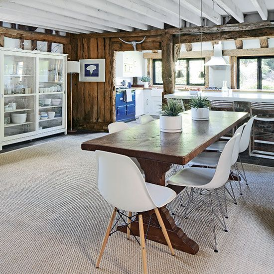 Rustic country kitchen-diner | Kitchen decorating | Beautiful Kitchens | Housetohome.co.uk