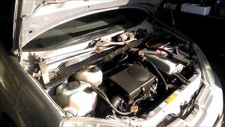 Тойота Приус замена кислородный датчик лямбда зонд