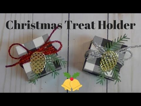 (1) Ep. #596 ~ Christmas Treat Holder | Stampin' Up! Style - YouTube