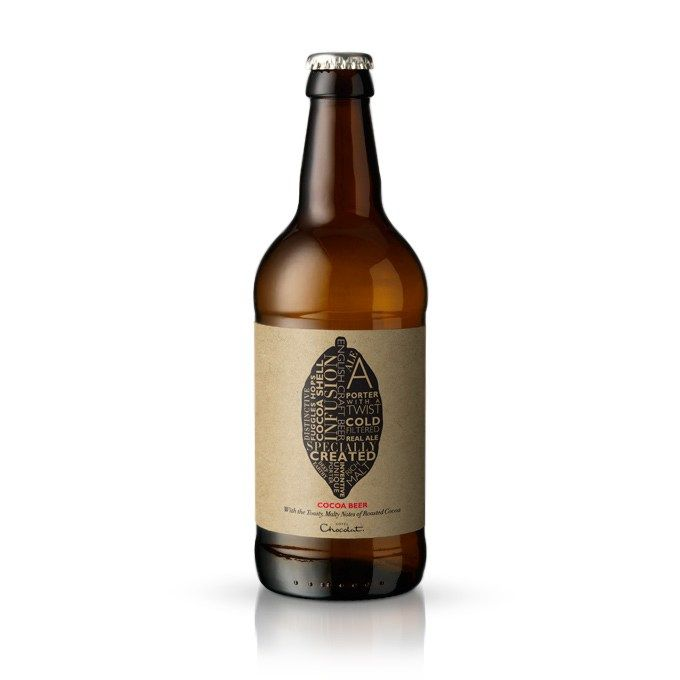Our distinctive, English, small-batch Cocoa Beer, brewed with traditional Fuggles hops and the warming flavour of cocoa shells to create a complex, rounded ale of real character for real beer lovers. #hotelchocolat #hcdreamhamper