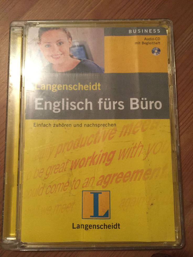 Langenscheidt  Englisch fürs Büro / Hörspiel Audio CD