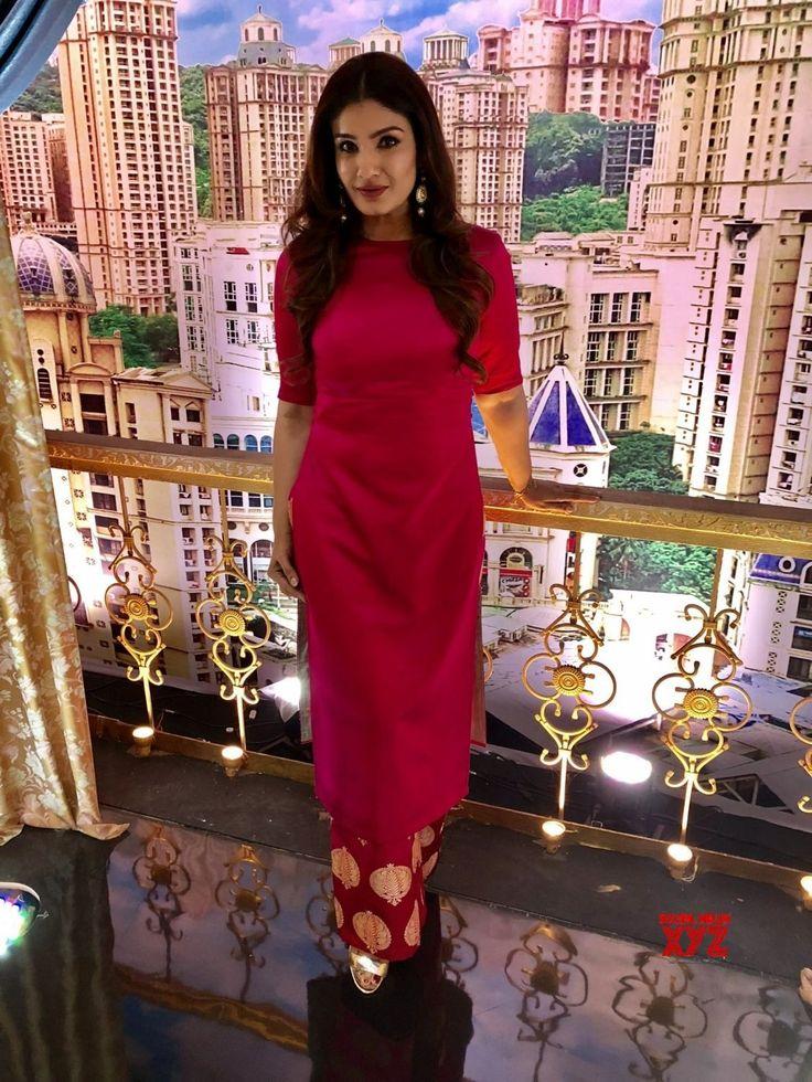 """Mumbai: """"Aunty Boli Lagao Boli"""" Raveena Tandon and Archana Puran Singh - Social News XYZ"""