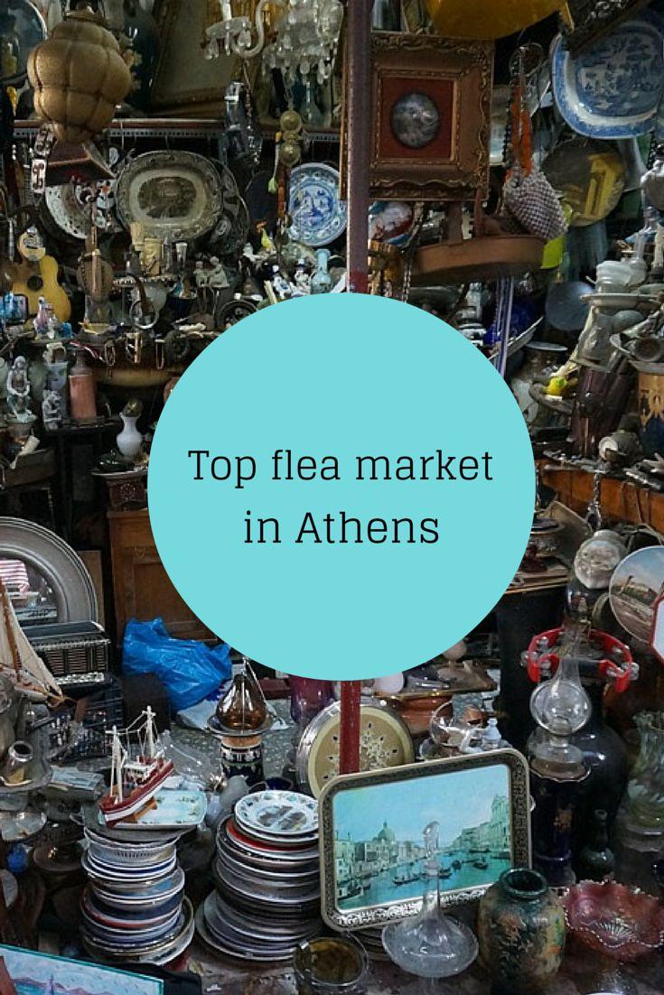 Discover the flea market in Monastiraki Athens