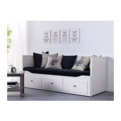 fjell bed frame with storage black leirsund