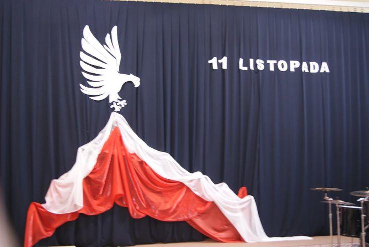 Znalezione obrazy dla zapytania 11 listopada-dekoracje szkolne