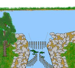 Fishing weir - Wikipedia, the free encyclopedia