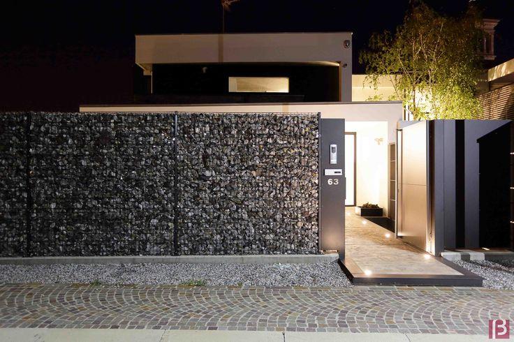 Betafence: Kamienne wypełnienie murku z paneli Zenturo