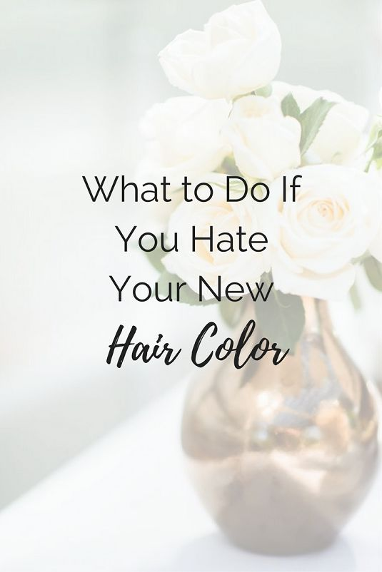Sweet, Short & Stylish: What to Do If You Hate Your New Hair Color