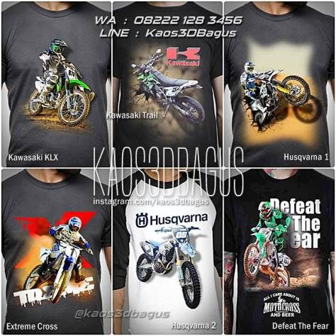 Kaos MOTOCROSS, Kaos TRAIL, Kaos3D, Kaos Motor Trail, KLX, KTM, Kawasaki Trail, Huszvarna, Suzuki, Dirt Bike, Freestyle Motocross, Kaos Klub Motocross, Motorcycle, Motorsport, https://kaos3dbagus.wordpress.com, WA : 08222 128 3456, LINE : Kaos3DBagus