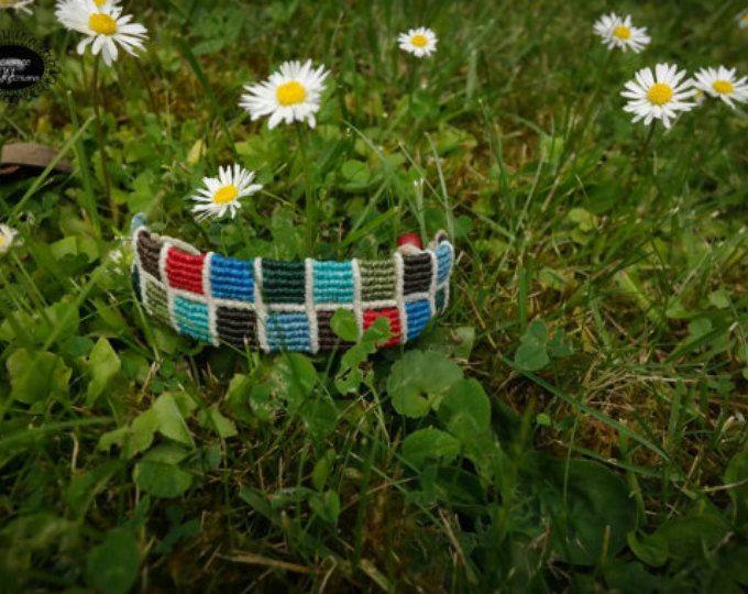 colorful marame bracelet