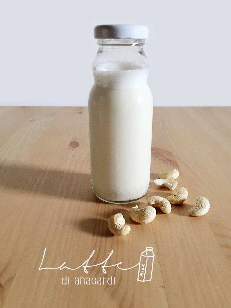 latte di anacardi * cashew milk #vegan #cashew #milk #anacardi #latte