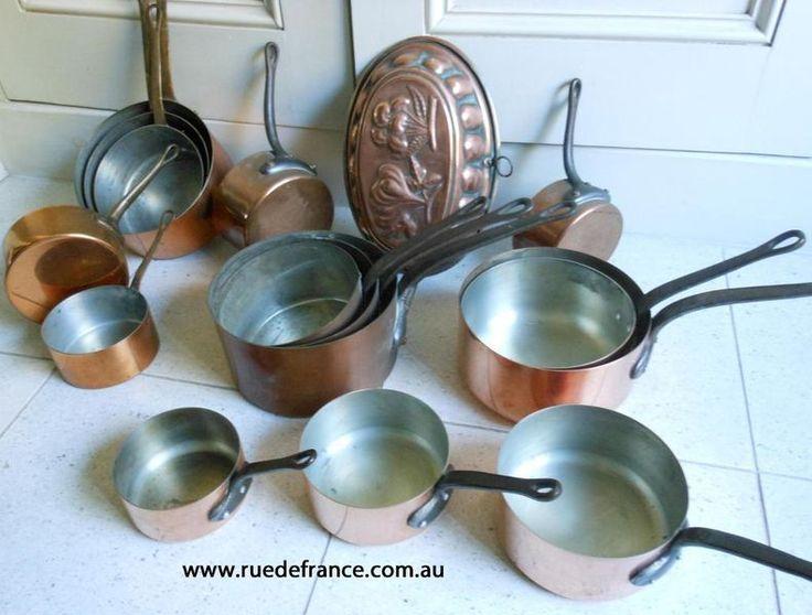 The French Kitchen copper kitchen ware