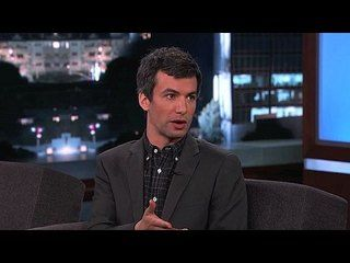 Jimmy Kimmel Live!: Gary Oldman, Nathan Fielder, Bleachers: Nathan Fielder Solves a Party Planning Problem -- Nathan Fielder reveals a method he discovered that makes not inviting people to parties much easier. -- http://www.tvweb.com/shows/jimmy-kimmel-live/season-12/gary-oldman-nathan-fielder-bleachers--nathan-fielder-solves-a-party-planning-problem