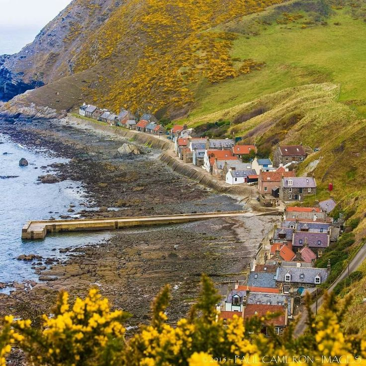 Crovie, Aberdeenshire  One of the most picturesque villages in Scotland.  by Paul Cameron