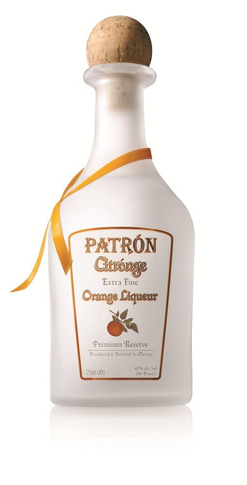 Patron Citronge Orange Liqueur In lieu of Cointreau, Grand Mariner or Triple Sec