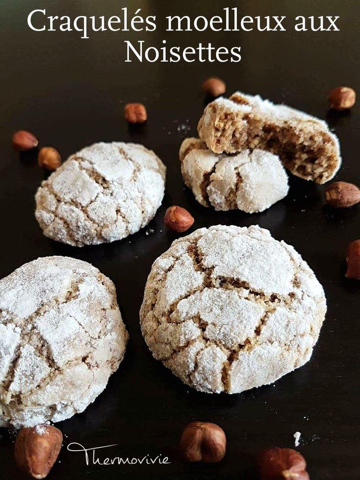 Je craque littéralement pour ces petits biscuits tout craquelés mais ultra moelleux.. Je les ai réalisé aux noisettes, mais vous pourrez bien entendu adapter la recette avec d'autres fruits à coques.. Promis, vous aussi vous allez craquer.. C'est tellement...