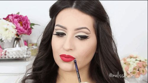 Get that pinup girl look without feeling clownish.