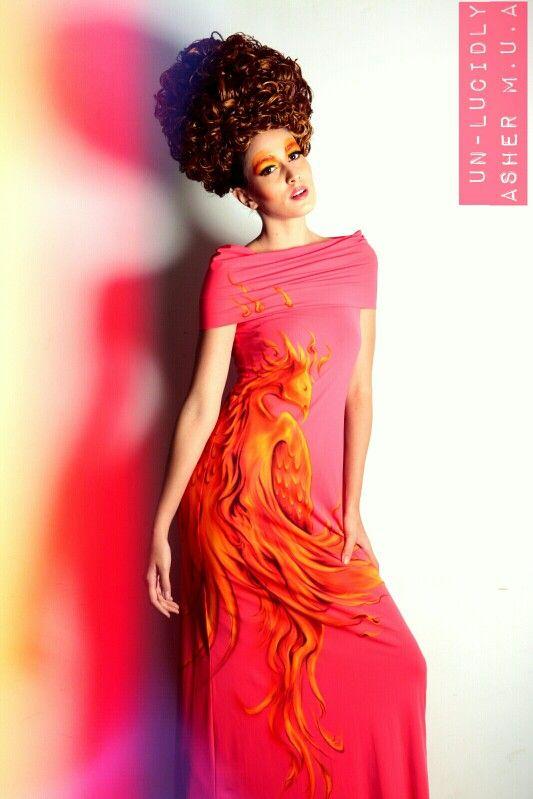 High fashion dress