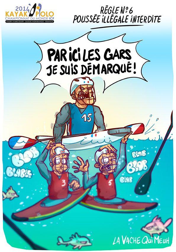 Mondiaux de Kayak Polo 2014 - Thury-Harcourt