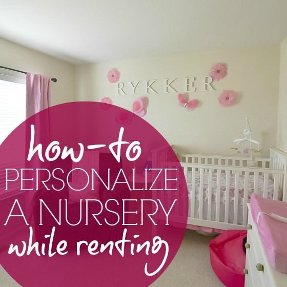 Daily Mom » How To: Personalize a Nursery While Renting