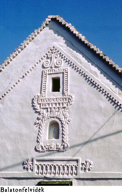 Windows in Balatonfelvidek, Hungary