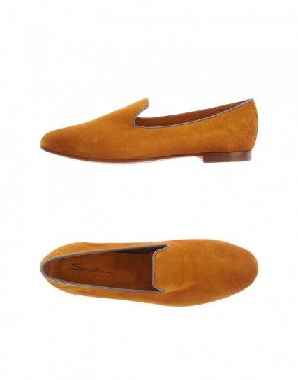 Slipper color senape Santoni