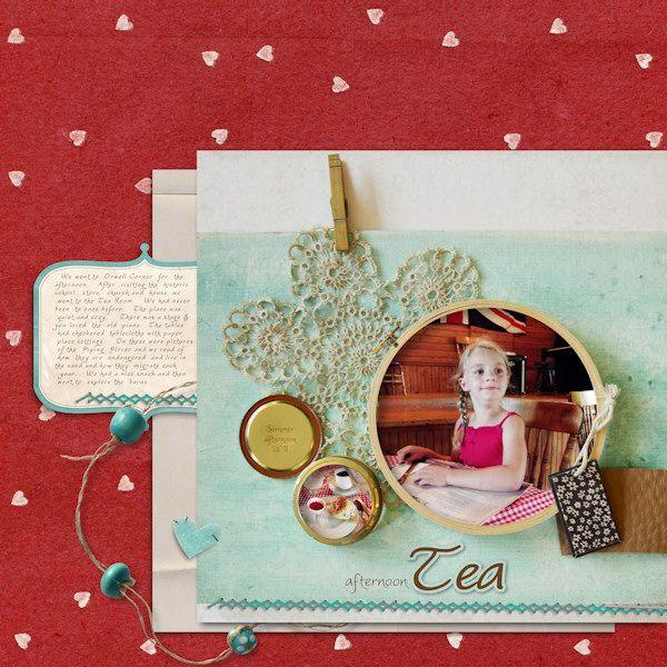 striking colors! layout by tonya regular at cottagearts.netRed Pink, Tonya Regular, Strike Colors, De Scrap