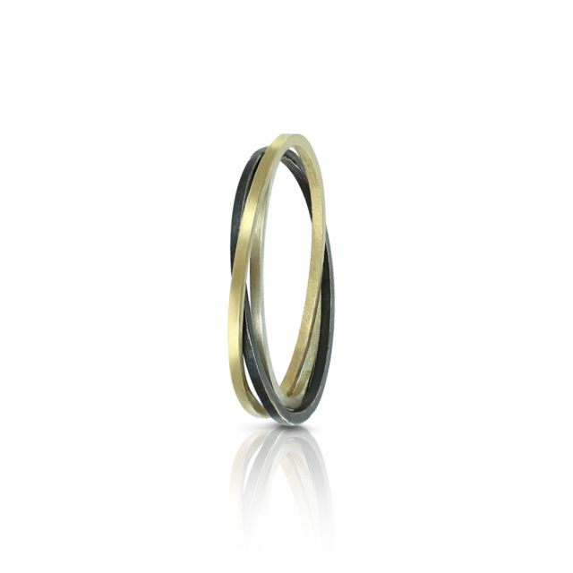 'Russian Ring' by Lauren Rowden (Ellie Air Jewellery) from her 'Firma' collection