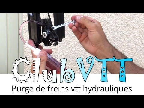 Purge frein vtt hydraulique SHIMANO XT - 050 - YouTube