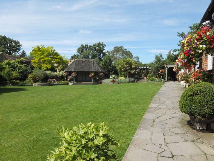 The garden in the height of Summer - Wedding Venue in Kent.