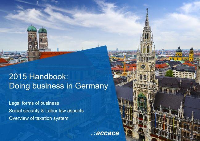 2015 Handbook: Doing business in Germany