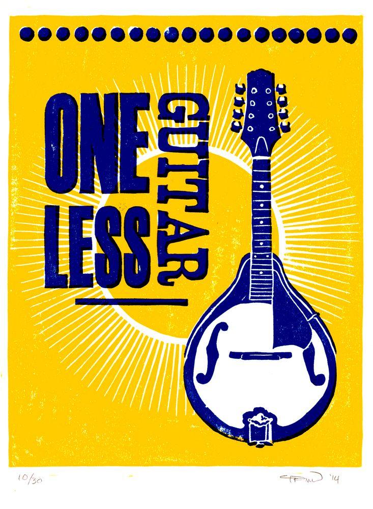 One Less Guitar: Mandolin   Papirklipp
