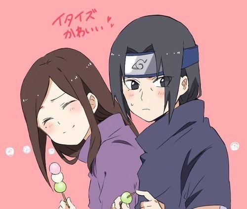 Izumi and Itachi. | The Uchihas - The Happy Memories ...