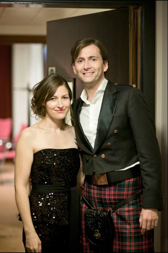 PHOTO OF THE DAY- 20th July 2016:   David Tennant and Kelly MacDonald at the Scottish BAFTAs in 2013