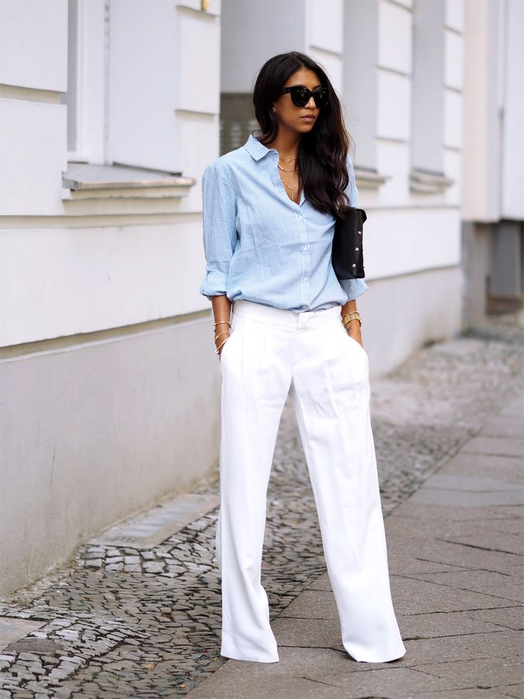 Fantastic Perfect Outfit Ideas With White Jeans 3