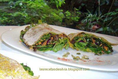 Las recetas de Silvia: Receta de Pan Chapati con verduras