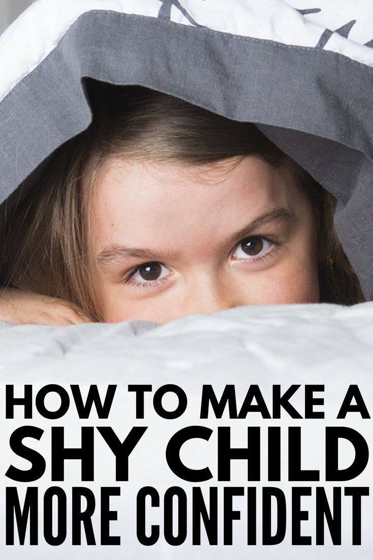 how to help my child overcome shyness