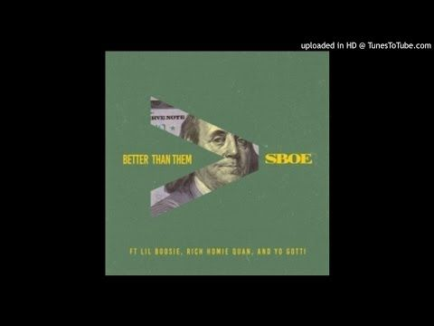 "JESSIE SPENCER: Yo Gotti featuring Rich Homie Quan, S.B.O.E & Lil Boosie - ""Better Than Them"""