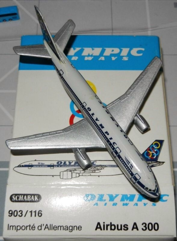 Schabak 1:600 Olympic Airways Airbus A300