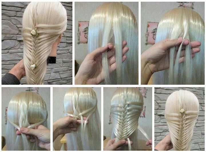 Different, easy and gorgeous braid.