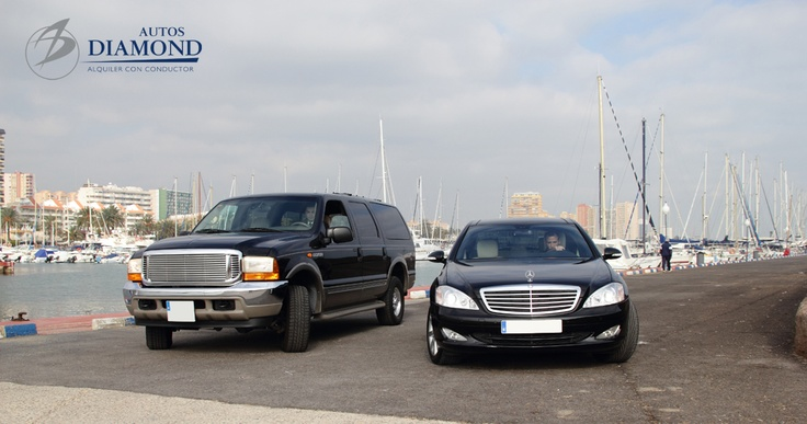 Ford Excusrion y Mercedes Serie S Gran Lujo.