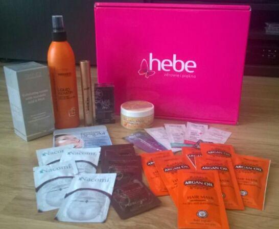 Paczka od HEBE :) #Hebe #ZdrowieIPiękno #ZakupyZHebe #streetcom #ambasadormarki #kosmetyki