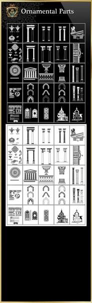 【Architectural CAD Drawings Bundle】(Best Collections!!) All CAD .DWG files are compatible back to AutoCAD 2000.Over 20000+ CAD drawings are available to purchase and download !!Spend more time designing, and less time drawing!Best Collectionsfor architects,interior designer and landscape designers. Get Total 79 Collectionsfor only $99! Included All the followings collections:Architectural decorative blocks, Architectural Finishes CAD blocks, Luxury Design Parts 1~6,Luxury Door & Win...