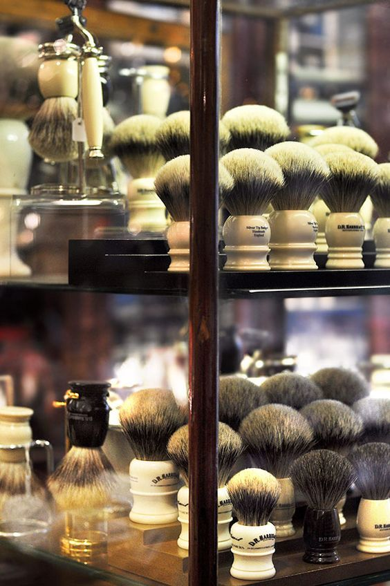 Softer than soft, shaving brushes.
