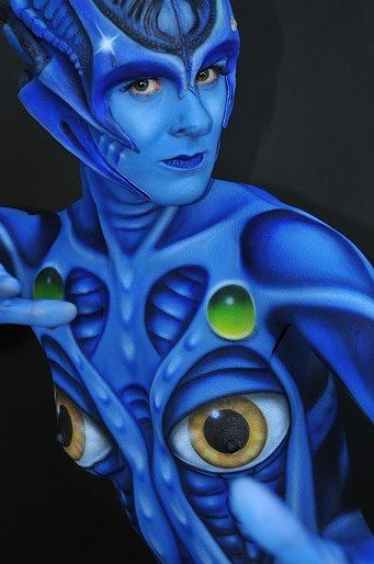 Galerie - Bodypainting Arts Berlin | Alien | #Bodypainting