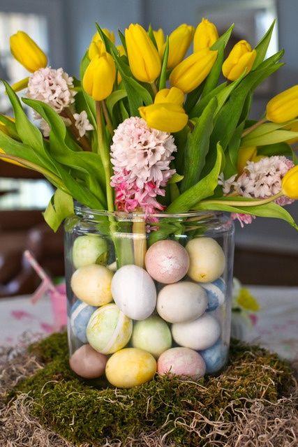 Easter/Ostara centerpiece